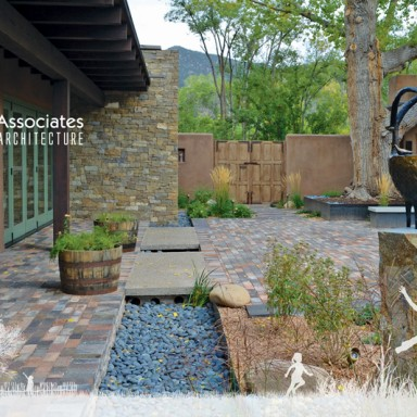 Solange Serquis Design Santa Fe 2012 Riverside House_