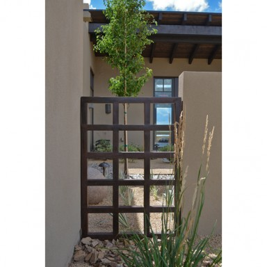 Solange Serquis Landscape Architect for the Haciendas parade of Homes Santa Fe 2014