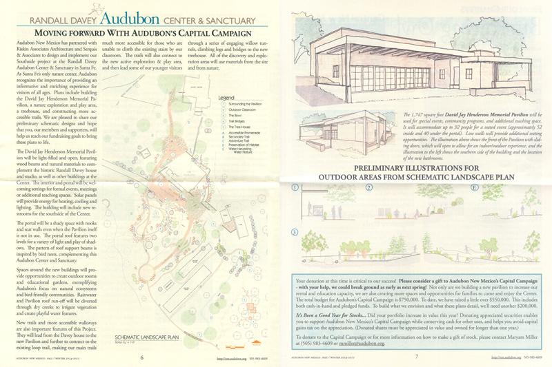 Serquis + Associates expand Audubon Center grounds with team