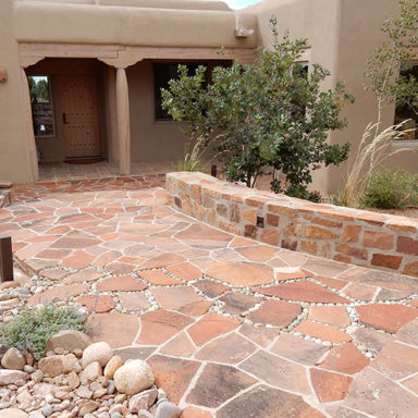 entryway serquis flagstone patio