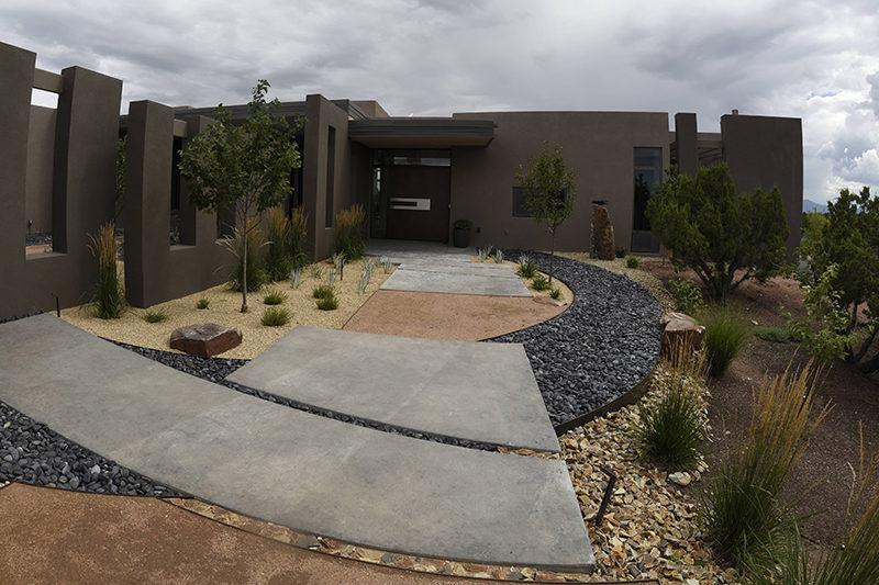 serquis associates design award landscaping new mexico