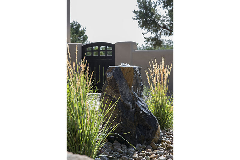 landscape serquis xeriscaping stone