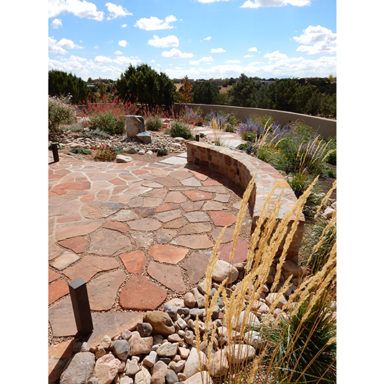 serquis landscape architect flagstone patio