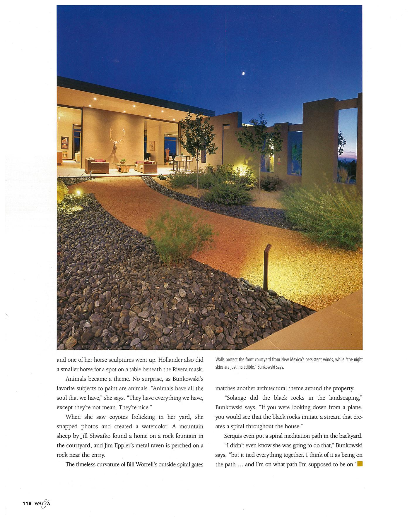 Art + Architecture Serquis Landscape Architects