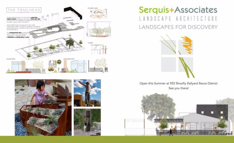 Solange Serquis landscape architect trailhead